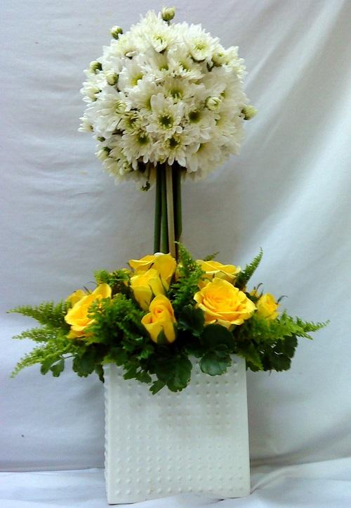 Gợi ý cách cắm hoa cúc ngày Tết đẹp nổi bật