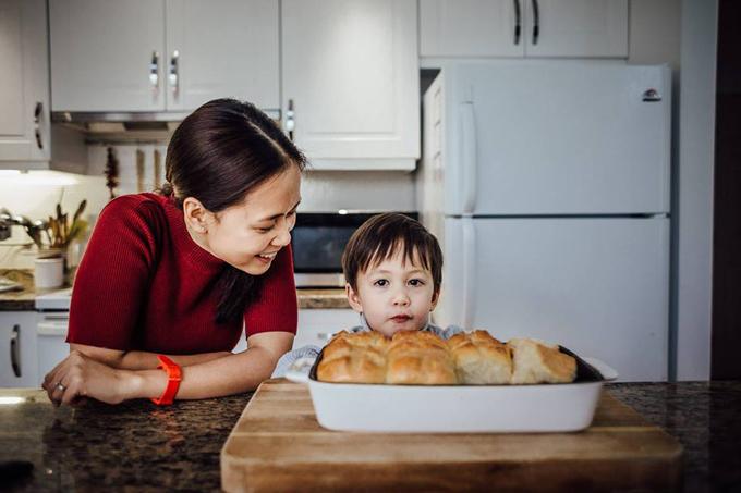 Mẹ Việt kiều từng giảm 20 kg tiết lộ mẹo giữ dáng gọn, eo thon đón Tết - Ảnh 1