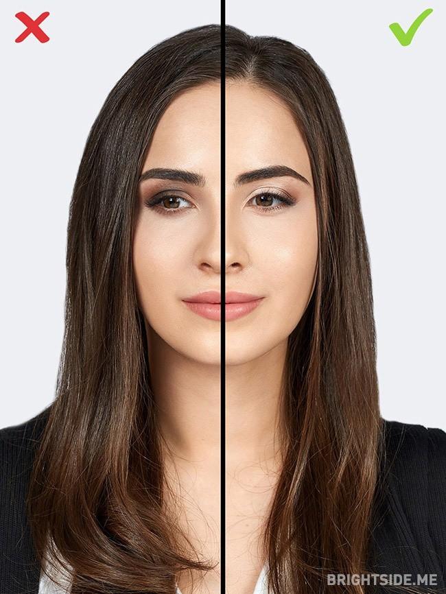 Đừng tự biến mình thành 'bà thím' chỉ bằng 7 lỗi make up cơ bản này - Ảnh 3