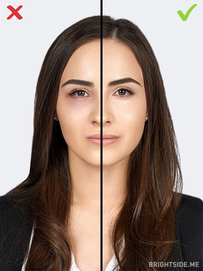 Đừng tự biến mình thành 'bà thím' chỉ bằng 7 lỗi make up cơ bản này - Ảnh 6