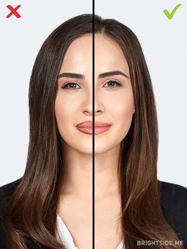 Đừng tự biến mình thành 'bà thím' chỉ bằng 7 lỗi make up cơ bản này - Ảnh 7