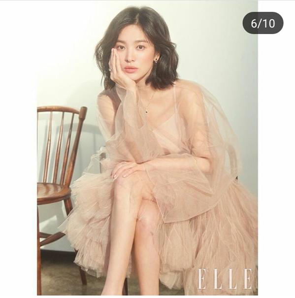 Giữa tin đồn ly hôn, Song Hye Kyo xuất hiện đầy quyến rũ trên tạp chí ELLE - Ảnh 3