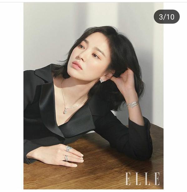 Giữa tin đồn ly hôn, Song Hye Kyo xuất hiện đầy quyến rũ trên tạp chí ELLE - Ảnh 4