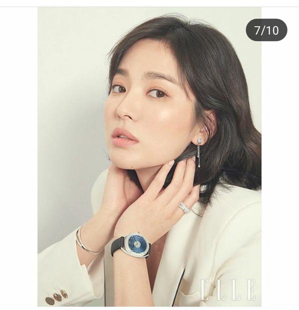 Giữa tin đồn ly hôn, Song Hye Kyo xuất hiện đầy quyến rũ trên tạp chí ELLE - Ảnh 6