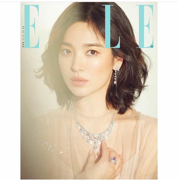 Giữa tin đồn ly hôn, Song Hye Kyo xuất hiện đầy quyến rũ trên tạp chí ELLE - Ảnh 7