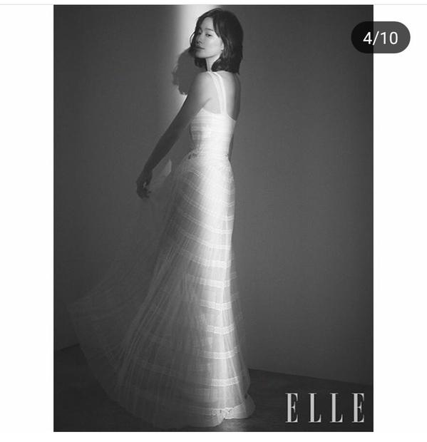 Giữa tin đồn ly hôn, Song Hye Kyo xuất hiện đầy quyến rũ trên tạp chí ELLE - Ảnh 9