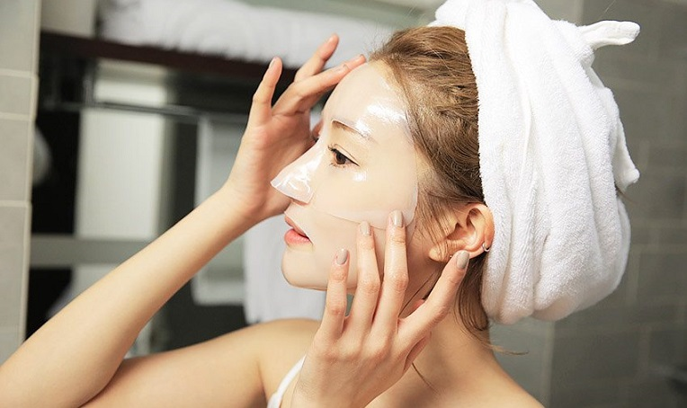 Tự làm mặt nạ giấy từ trà xanh để dùng, làn da sạm đen do cháy nắng hay nhăn nheo vì lão hóa cũng trở nên căng mịn, trắng hồng - Ảnh 5