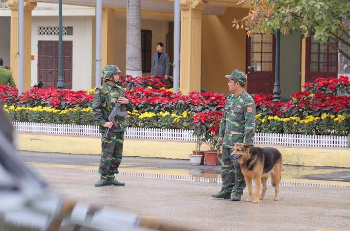 Nhiều lớp an ninh thắt chặt tối đa ở ga Đồng Đăng trước Thượng đỉnh Mỹ-Triều - Ảnh 4