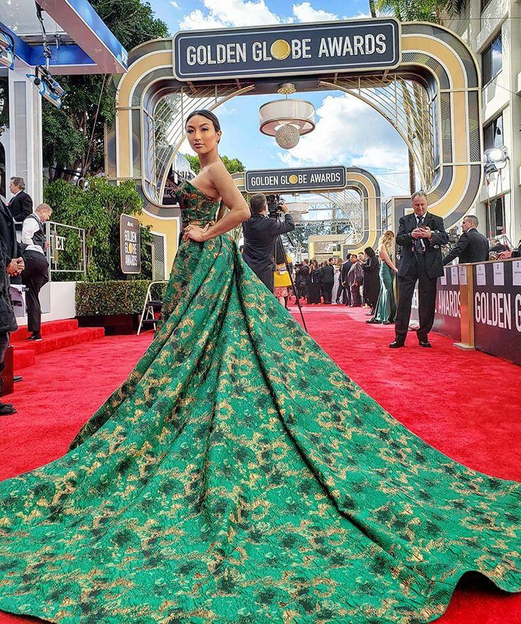 Nữ MC gốc Việt dẫn hậu trường thảm đỏ của Oscar 2019 - Ảnh 3