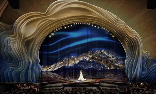 Sân khấu Oscar 2019 được trang hoàng với 41.000 viên pha lê - Ảnh 1