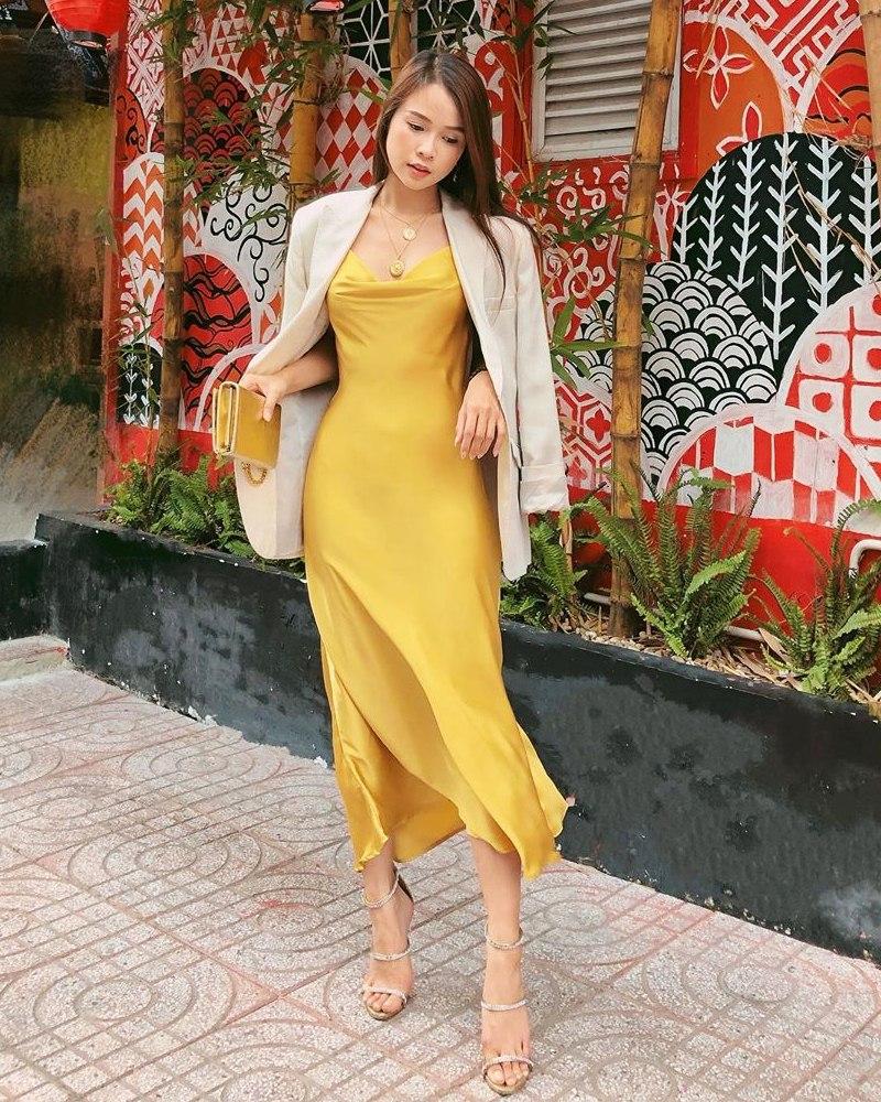 Tuyệt chiêu mix áo blazer thanh lịch của sao Việt ngày giao mùa - Ảnh 2
