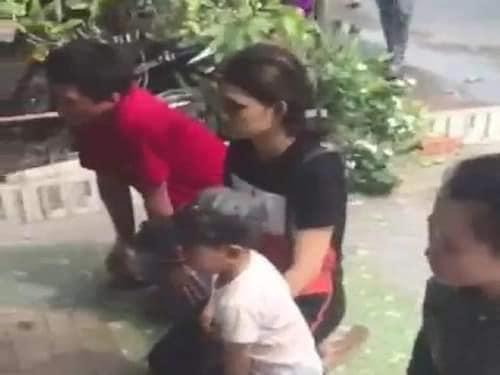 Vụ bé sơ sinh bị bỏ rơi ở Cà Mau: Nhận là cha mẹ ruột, quỳ trước nhà chủ tịch phường xin lại con - Ảnh 3