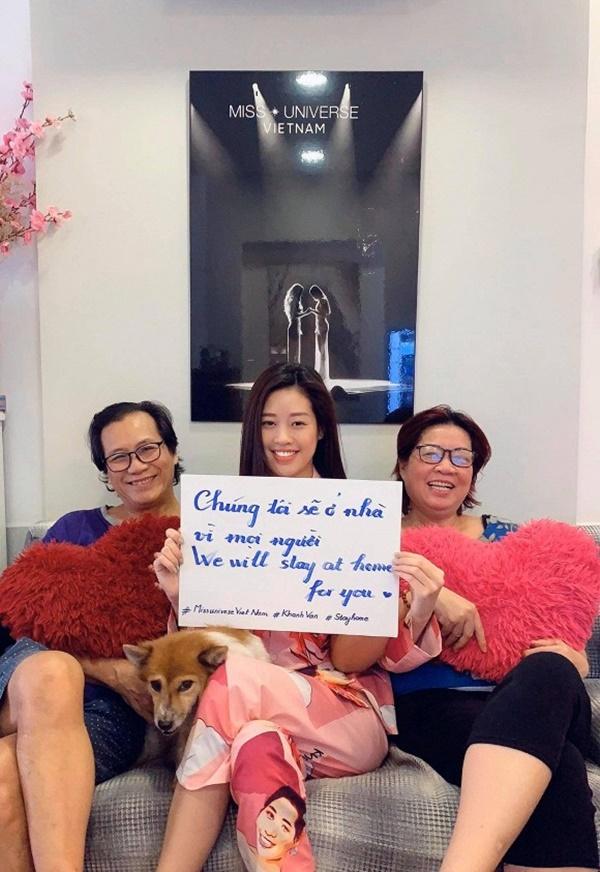 Khánh Vân, H'Hen Niê, Lan Phương mở đầu chiến dịch kêu gọi ở nhà tránh dịch - Ảnh 1
