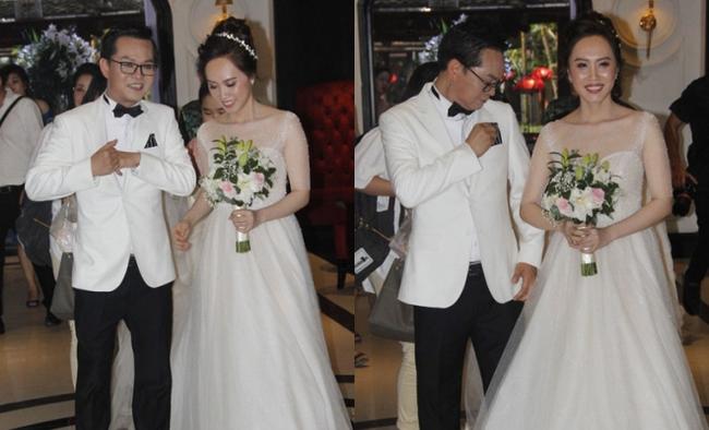 Dàn sao phía Bắc nô nức đến dự đám cưới hoành tráng của NSND Trung Hiếu và vợ trẻ kém gần 2 giáp - Ảnh 1
