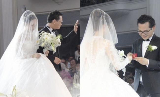 Dàn sao phía Bắc nô nức đến dự đám cưới hoành tráng của NSND Trung Hiếu và vợ trẻ kém gần 2 giáp - Ảnh 9