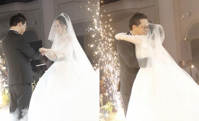 Dàn sao phía Bắc nô nức đến dự đám cưới hoành tráng của NSND Trung Hiếu và vợ trẻ kém gần 2 giáp - Ảnh 10