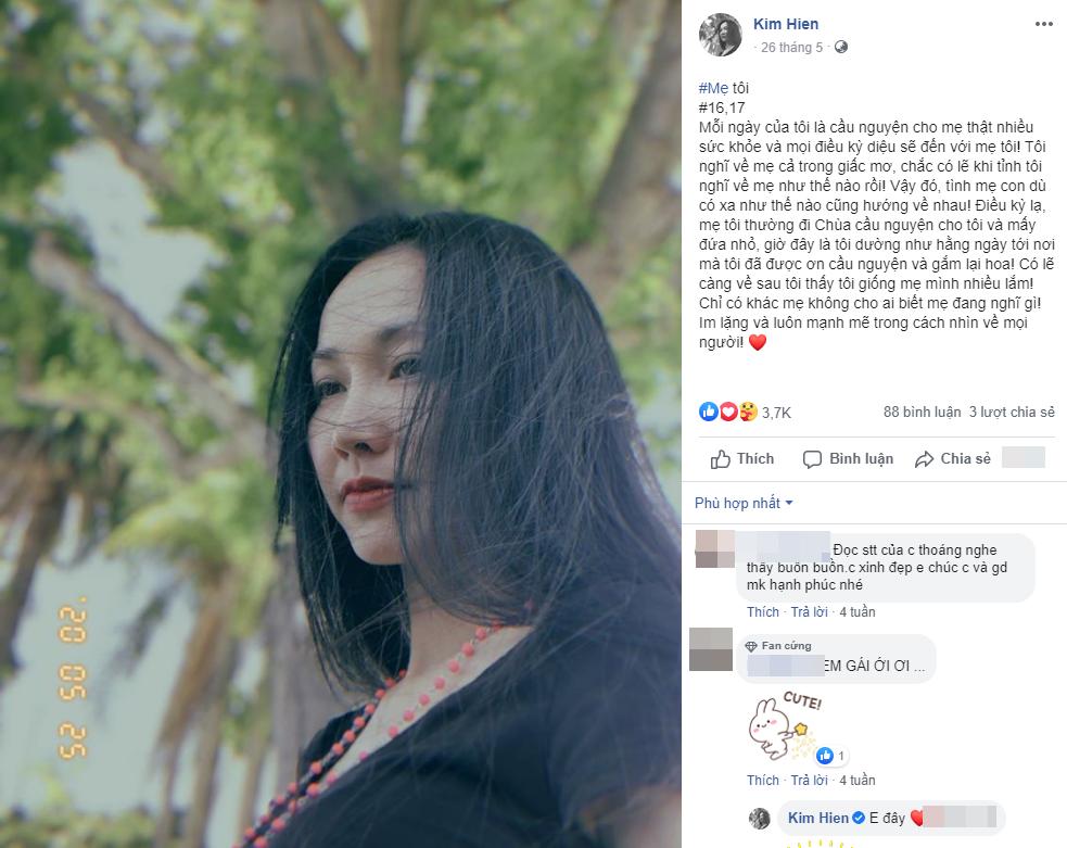 Xót xa khi đọc lại 'nhật ký' của Kim Hiền trước khi mẹ qua đời, đếm từng ngày mong được gặp mẹ giờ đã không thể làm được nữa - Ảnh 5