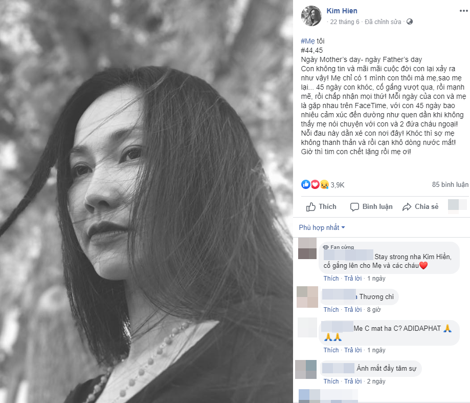 Xót xa khi đọc lại 'nhật ký' của Kim Hiền trước khi mẹ qua đời, đếm từng ngày mong được gặp mẹ giờ đã không thể làm được nữa - Ảnh 7