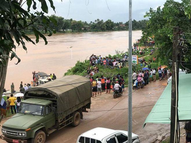 Vỡ đập thủy điện dọc sông Mekong ở Lào, hàng trăm người mất tích - Ảnh 2