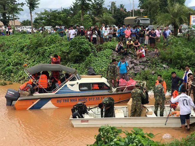 Vỡ đập thủy điện dọc sông Mekong ở Lào, hàng trăm người mất tích - Ảnh 3