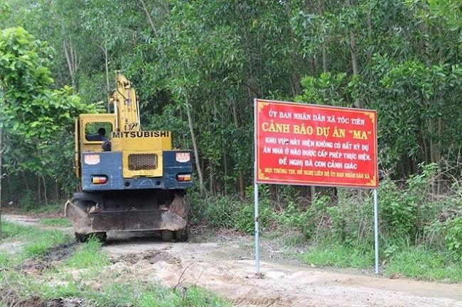 Hậu vụ cưỡng chế dự án 'ma' của địa ốc Alibaba: Cảnh báo hàng loạt dự án giăng bẫy người dân - Ảnh 1