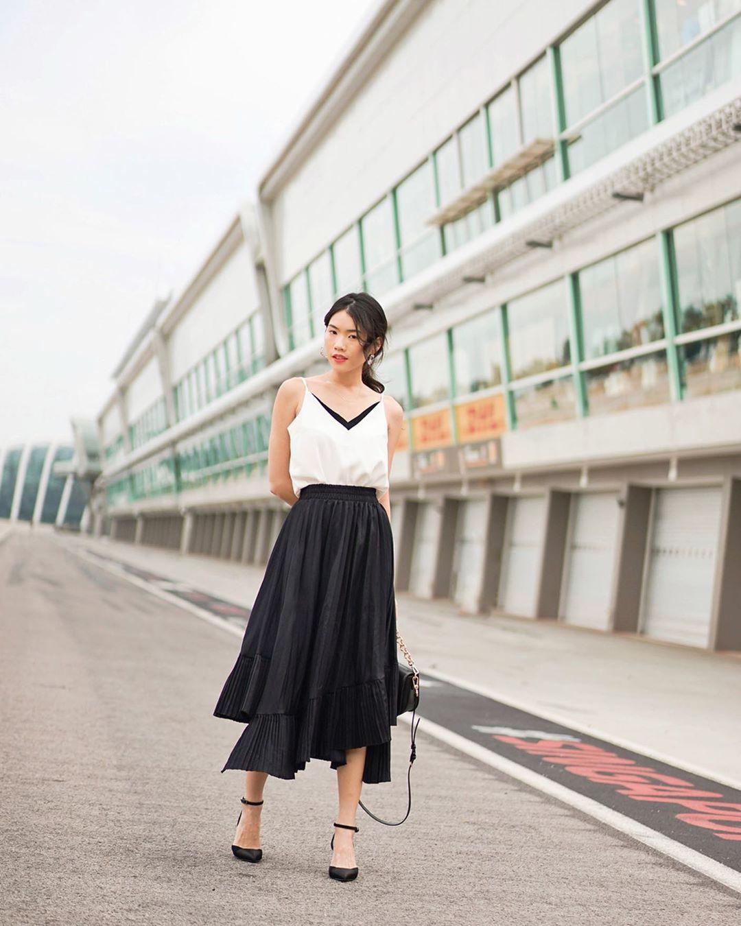 Không phải váy và loại giày nào cũng ăn ý với nhau, nhưng bạn diện 4 công thức sau thì dứt khoát đẹp - Ảnh 11