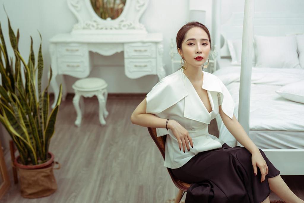 Quỳnh Nga: 'Rất căng thẳng khi diễn cảnh cưỡng hôn Quốc Trường' - Ảnh 2