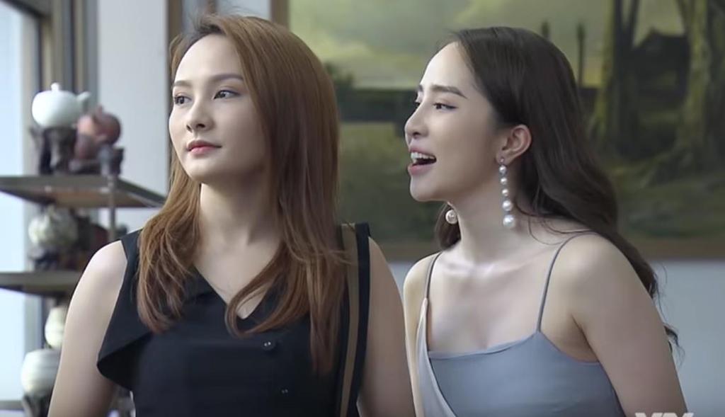 Quỳnh Nga: 'Rất căng thẳng khi diễn cảnh cưỡng hôn Quốc Trường' - Ảnh 3
