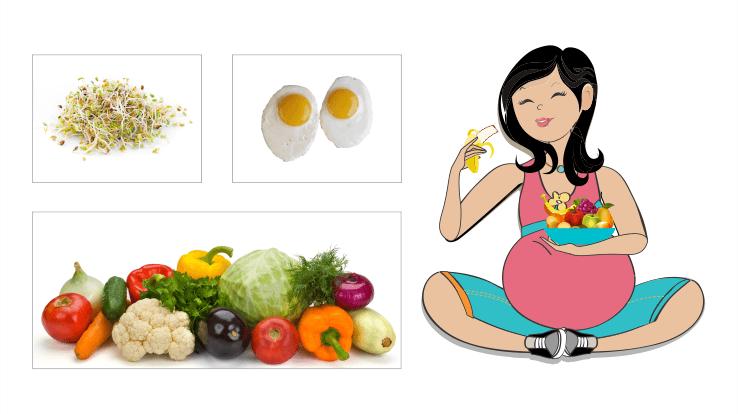 5 nguyên tắc ăn uống giúp mẹ bầu không tăng cân nhiều mà thai nhi vẫn đủ chất - Ảnh 2