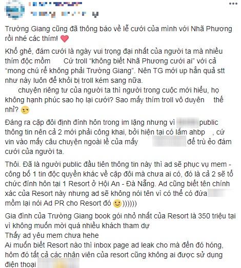Trường Giang và Nhã Phương cùng đến Đà Nẵng để chuẩn bị cho lễ đính hôn vào ngày mai? - Ảnh 2