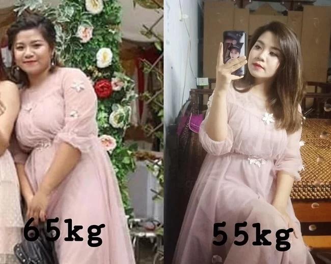 Bị chê béo như mẹ sề, thiếu nữ Hà Nội giảm 11kg sau 4 tháng - Ảnh 1