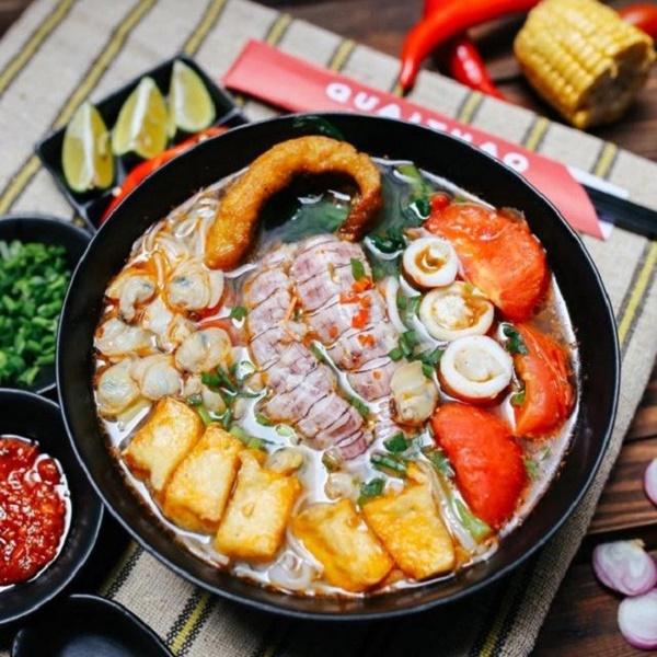 Cách nấu bún hải sản chua cay ngon hơn ngoài hàng - Ảnh 1