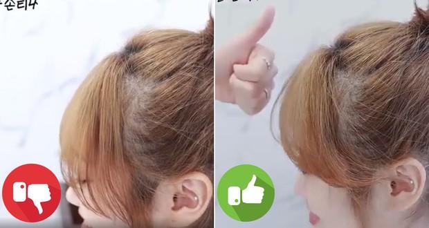 Gái Hàn luôn có tóc mái bồng bềnh tự nhiên cả ngày dài là nhờ một thủ thuật vô cùng đặc biệt - Ảnh 1
