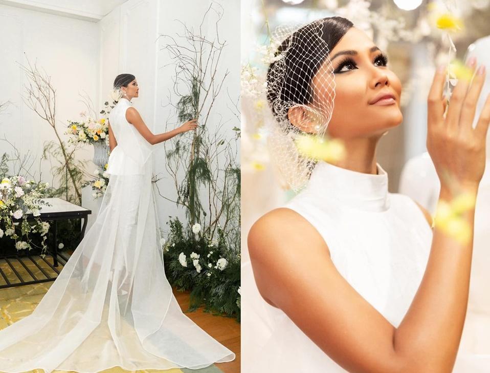 Vừa công khai có bạn trai, Hoa hậu H'Hen Niê tung ảnh cưới đẹp như cổ tích: 'Hen cũng phải thành cô dâu' - Ảnh 1
