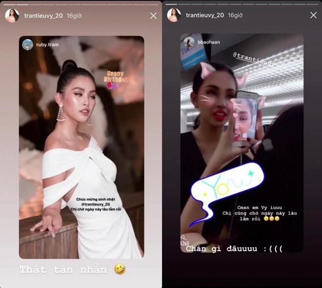 Hoa hậu Tiểu Vy chia sẻ ảnh 'dìm' nhan sắc trong ngày sinh nhật - Ảnh 1