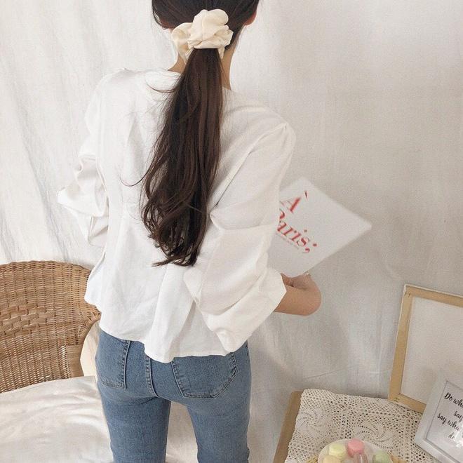 Jennie, Nayeon, Irene… đều mê mẩn chun buộc tóc từ thời các mẹ, các cô nàng nên sắm ngay để diện trong mùa tựu trường - Ảnh 9