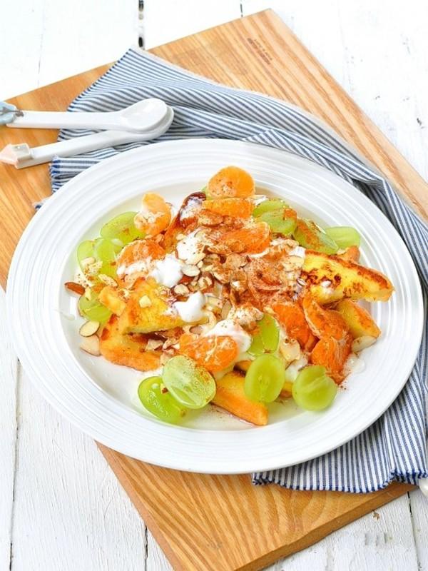 Buổi sáng có món salad trái cây này thì vừa nhẹ bụng, đủ chất lại còn ngon hết cỡ! - Ảnh 4
