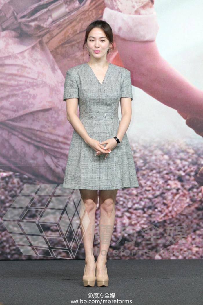 Song Hye Kyo cũng có nhược điểm vóc dáng gây tự ti và đây là 2 cách cô chọn trang phục để khắc phục điều này - Ảnh 2