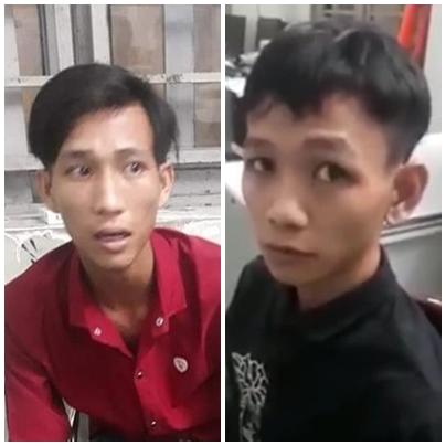 Tuần tra đêm bắt giữ hai đối tượng cạy cửa trộm tài sản chuyên nghiệp - Ảnh 1