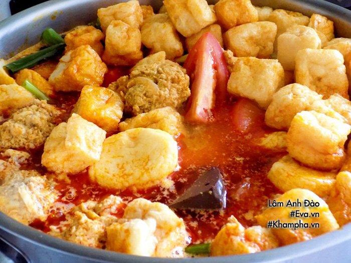 Tự nấu bún riêu thịt thơm ngon, đủ chất cho bữa sáng cả nhà không phải ăn hàng nữa - Ảnh 6