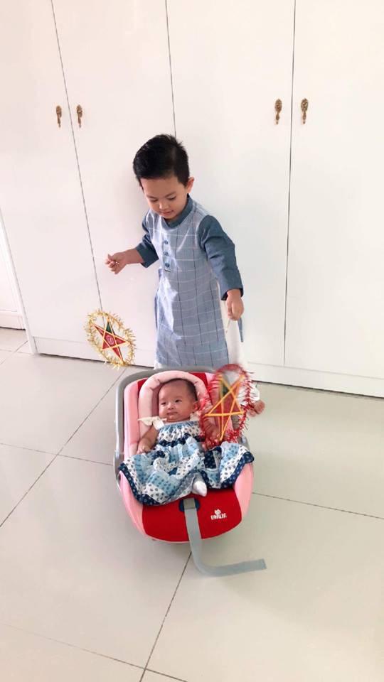 Con gái ngày càng giống Phan Hiển, Khánh Thi dở khóc dở cười khi bị trêu 'đẻ thuê' - Ảnh 3
