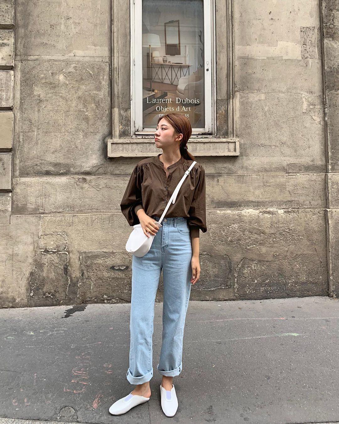 Đã tìm ra kiểu quần jeans vô địch về khoản hack tuổi, nhưng vẫn thanh lịch chẳng kém quần jeans trắng - Ảnh 11