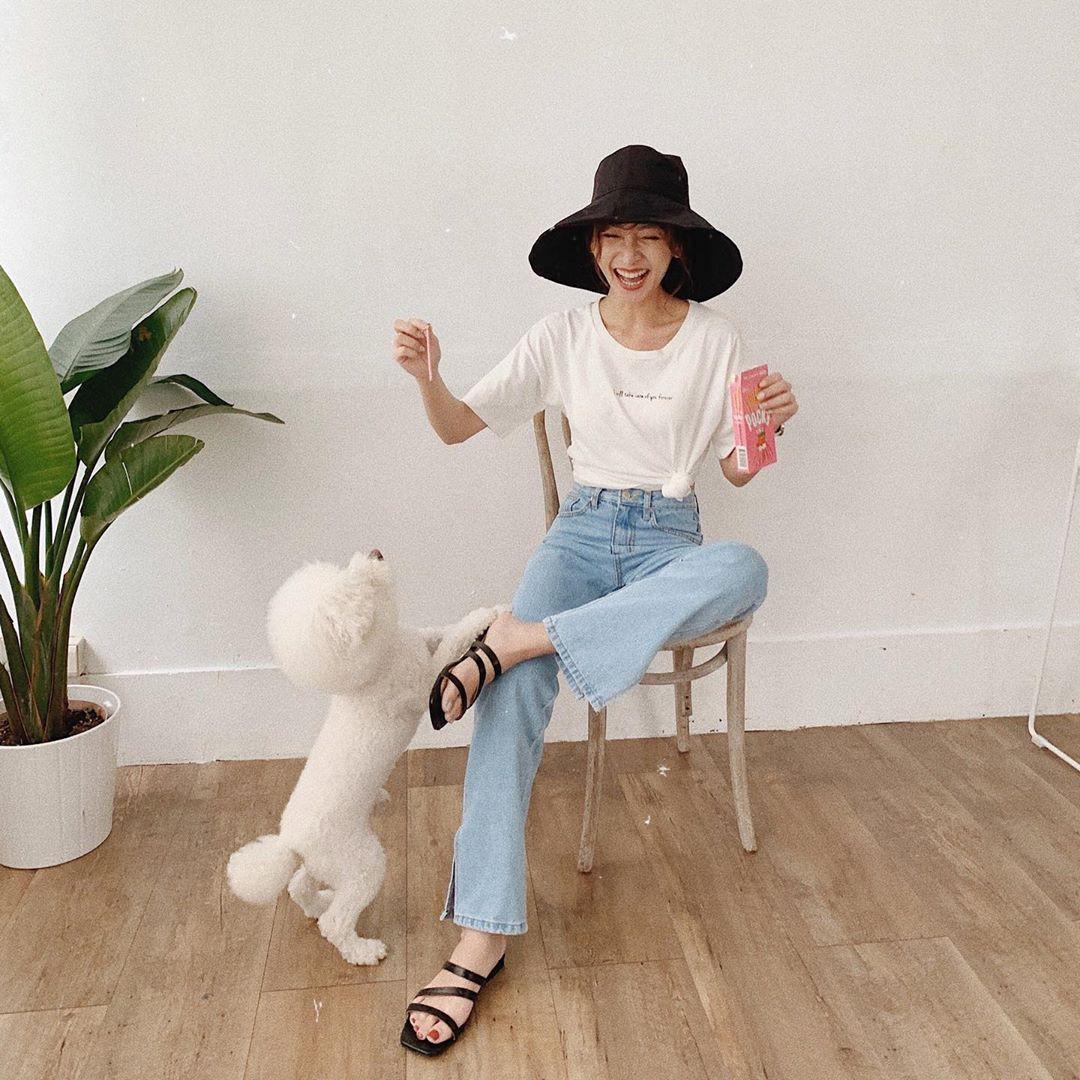 Đã tìm ra kiểu quần jeans vô địch về khoản hack tuổi, nhưng vẫn thanh lịch chẳng kém quần jeans trắng - Ảnh 4