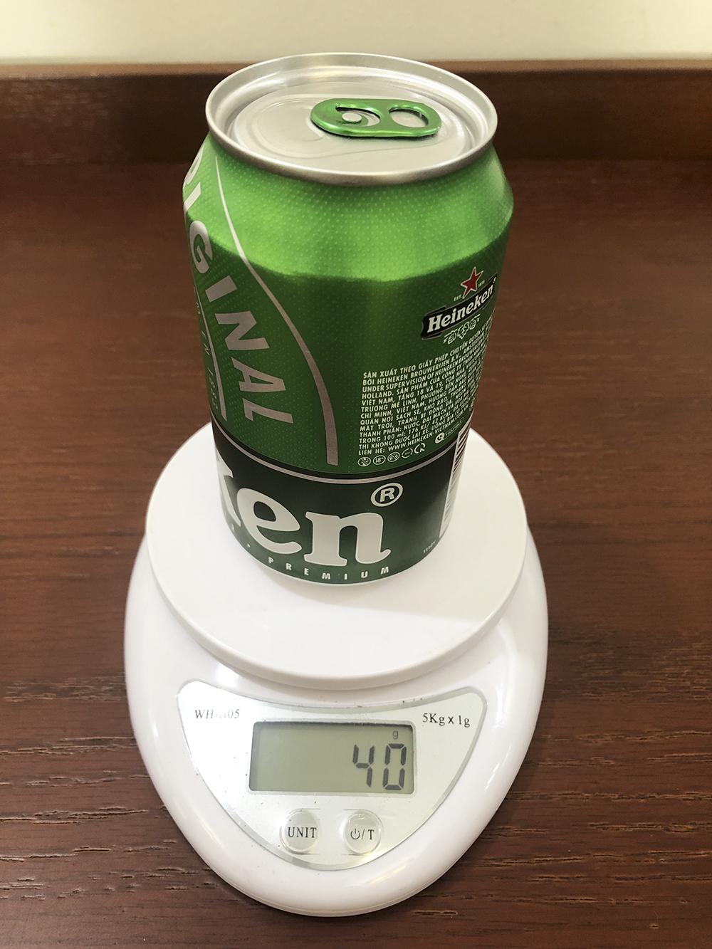 Khách hàng 'tố' lon bia Heineken 'bị lỗi' - Ảnh 1