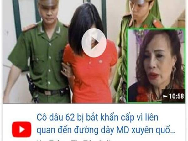 Cô dâu 62 tuổi bức xúc, tuyên bố ngày livestream 3 lần sau khi xuất hiện clip fake 'bị bắt vì liên quan đường dây mại dâm' - Ảnh 1