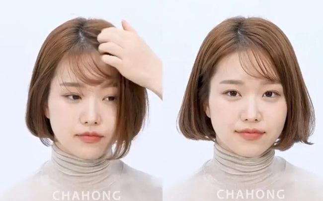2 cách cắt tóc mái thưa chéo siêu nhanh, đảm bảo không lỗi mà còn đẹp hơn cả ngoài tiệm - Ảnh 4