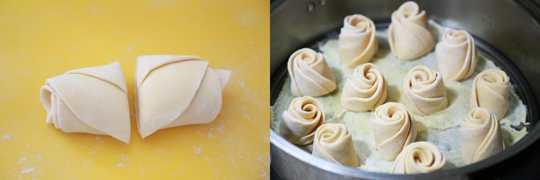 Cách làm bánh bao hoa hồng: Tưởng không dễ mà dễ không tưởng! - Ảnh 4