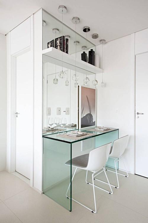 'Tuyệt chiêu' giúp căn hộ 35 m2 sang trọng như rộng gấp đôi - Ảnh 5