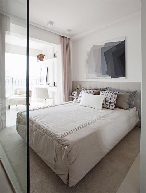 'Tuyệt chiêu' giúp căn hộ 35 m2 sang trọng như rộng gấp đôi - Ảnh 6