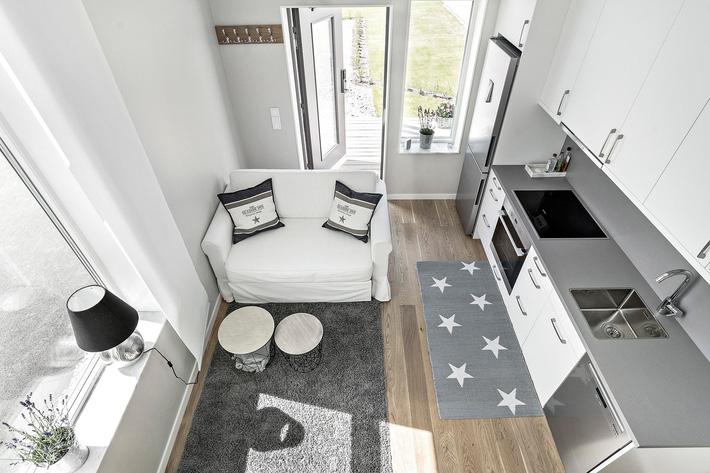 Ngôi nhà nhỏ rộng vỏn vẹn 19m² vẫn hiện lên xinh xắn với đầy đủ tiện nghi, ai yêu thích cuộc sống độc lập cũng thích - Ảnh 10